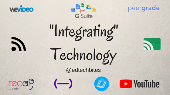 """Integrating"" Technology"