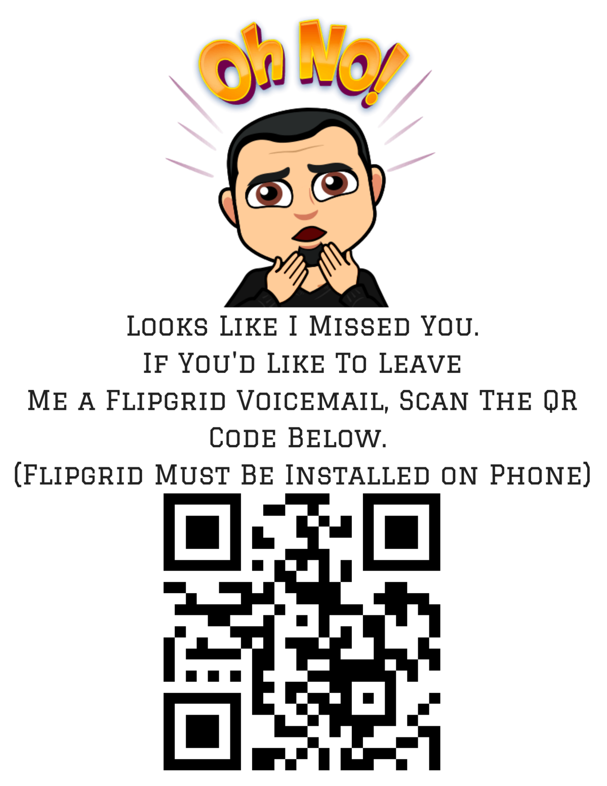 Flipgrid Out Of Office Voicemail